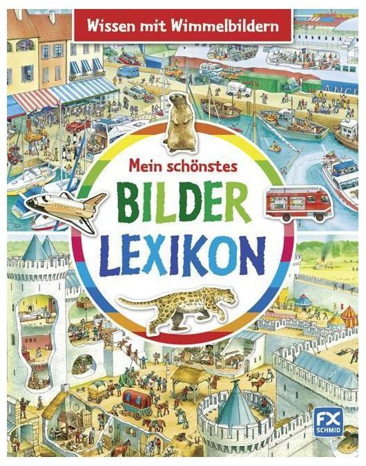 Mein schönstes Bilderlexikon. обложка
