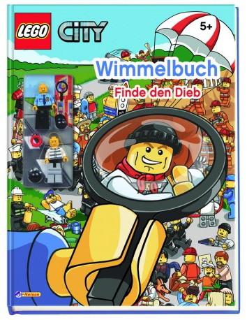 Обложка LEGO City Wimmelbuch Finde den Dieb