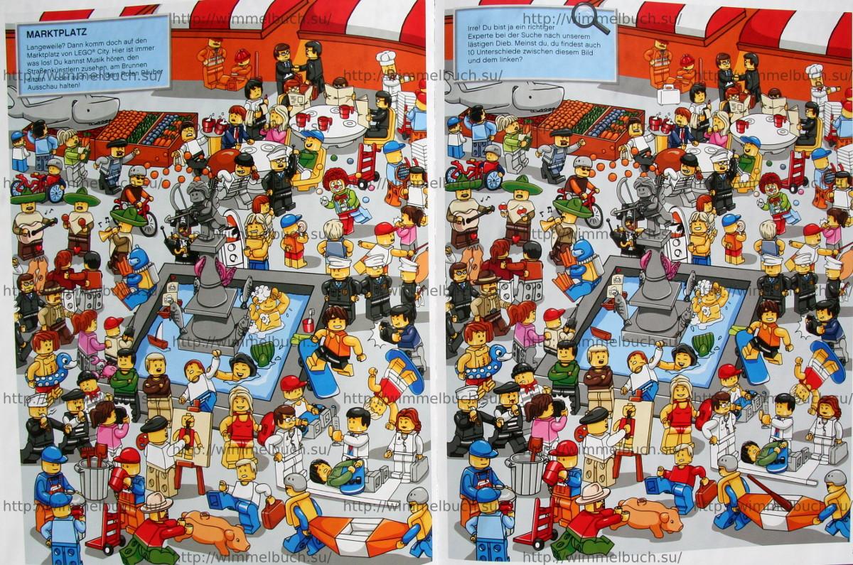 LEGO City Wimmelbuch Finde den Dieb. РЫНОК